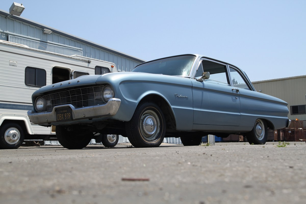 A Classic 1960 Ford Falcon gets donated to fight Prostate